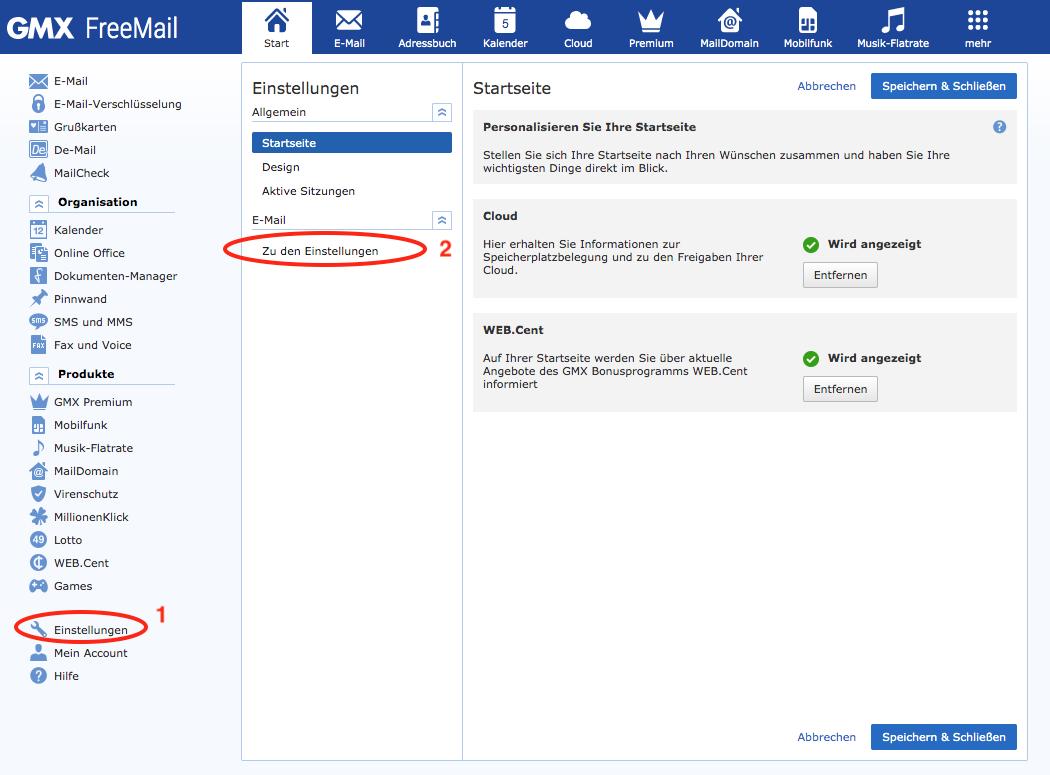 Wenn Sie Ihre GMX Email Adresse vergessen haben - Tipps zu