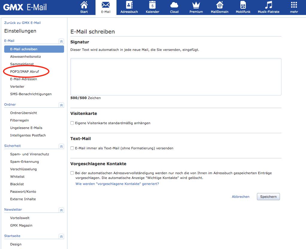 E Mail Adresse Vergessen Gmx